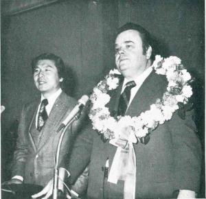 세계십자군 연맹 총재 하기스 박사